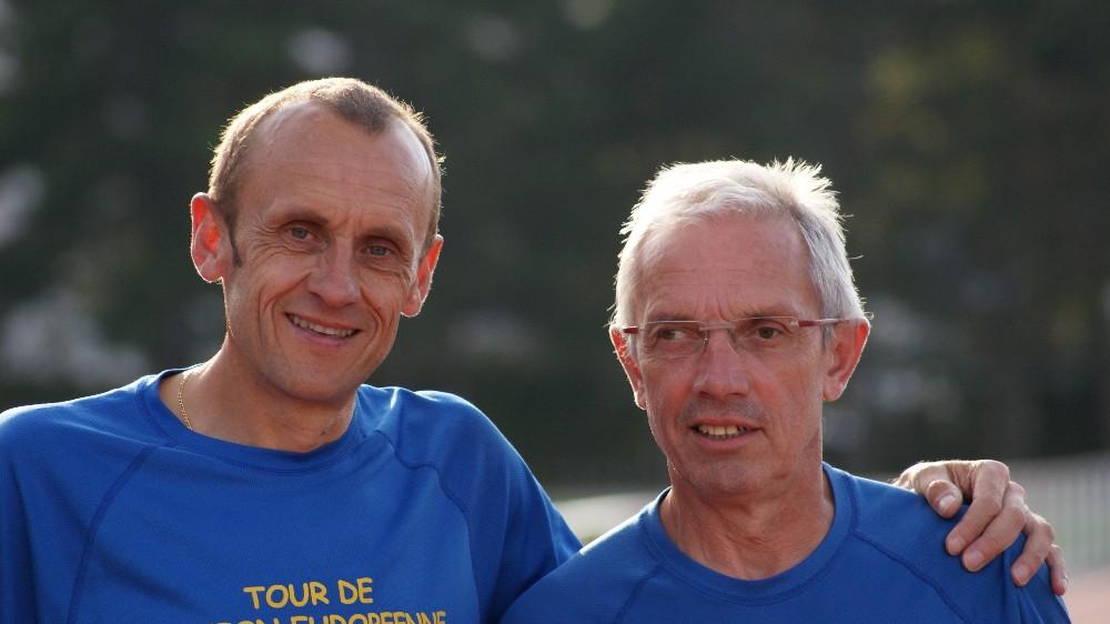 Bertrand Plaquevent et René Girard